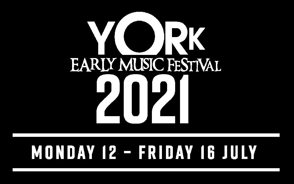 York Early Music Festival 2021 logo